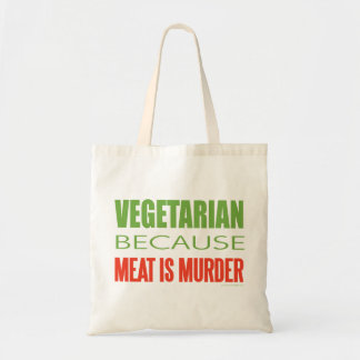 Meat Is Murder - Anti-Meat Canvas Bag