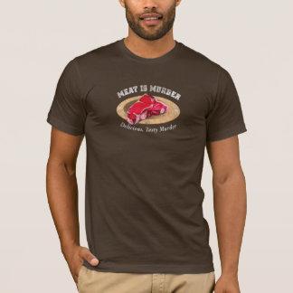 Meat Is Murder - Delicious, Tasty Murder T-Shirt