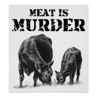 Meat Is Murder Poster