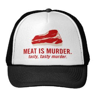 Meat is Murder Tasty Murder Hat