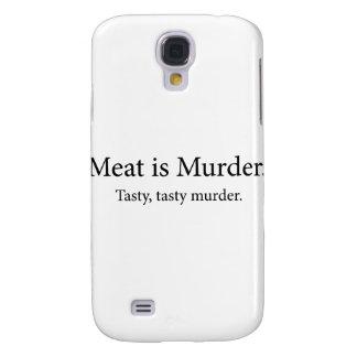 Meat Is Murder Tasty Tasty Murder Galaxy S4 Case