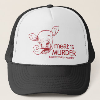 Meat is Murder Trucker Hat