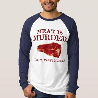 Meat is Tasty Murder Shirt