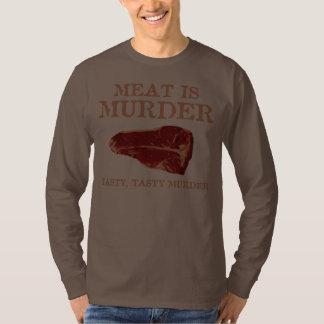 Meat is Tasty Murder Shirts