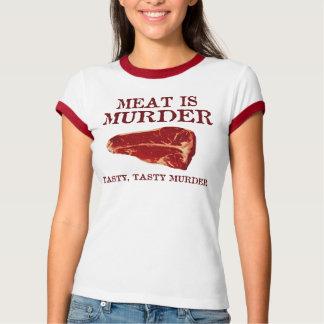 Meat is Tasty Murder Tees