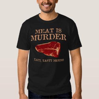 Meat is Tasty Murder Tshirt