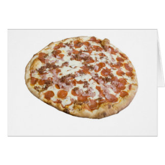 Meat Lovers' Pizza Card
