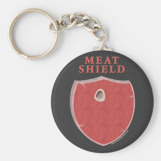 Meat Shield Key Ring