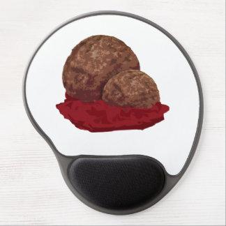 Meatballs in Sauce Gel Mouse Pad
