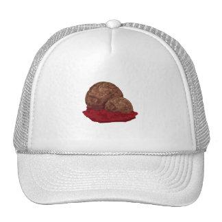 Meatballs in Sauce Hats