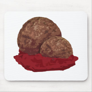 Meatballs in Sauce Mousepad