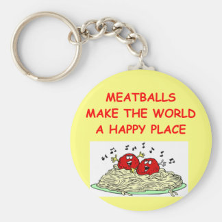 meatballs key ring