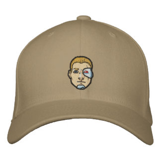 Mec-Head! Embroidered Baseball Cap