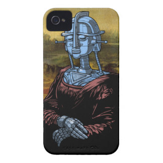 Mecha Lisa iPhone 4 Case