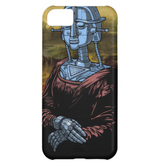 Mecha Lisa iPhone 5C Case