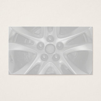 Mechanic Car Rim and Wheel Business Card