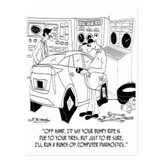 Mechanic Cartoon 9355 Postcard