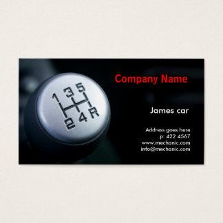 Mechanic Company Business Card Template