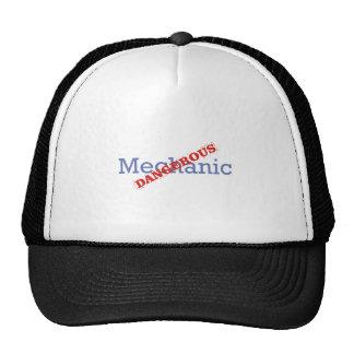 Mechanic Dangerous Mesh Hat