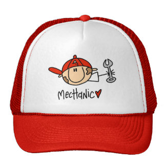 Mechanic Mesh Hat