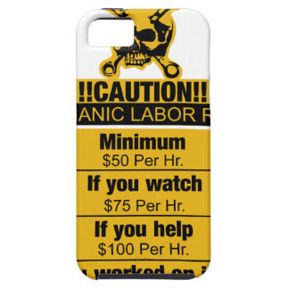 Mechanic labor rates - Caution iPhone 5 Covers