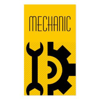 Mechanic Repair Maintenance Construction Pack Of Standard Business Cards
