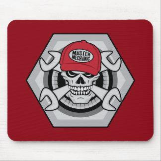 Mechanic Skull-01 Mouse Pad