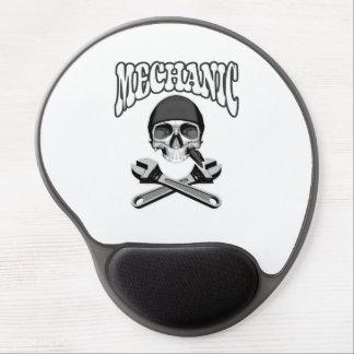 Mechanic Skull Wrenches Gel Mousepad