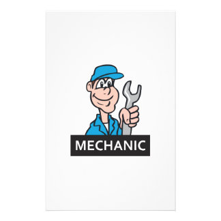 MECHANIC STATIONERY DESIGN