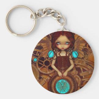 """""""Mechanical Angel I"""" Keychain"""