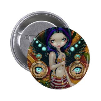 """""""Mechanical Angel III"""" Button"""