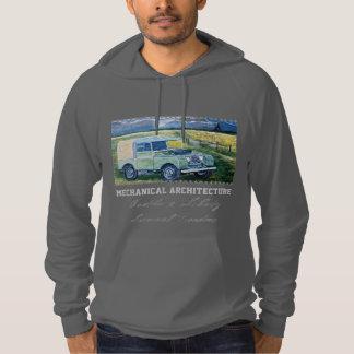 Mechanical Architecture :Hooded Fleece Hooded Sweatshirt