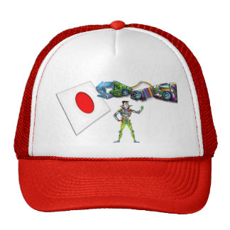 Mechanical Arm Flag of Japan Cap