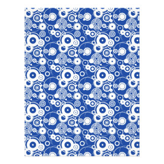 Mechanical circles pattern flyers