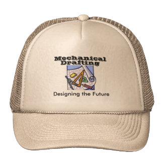 Mechanical Drafting Mesh Hats