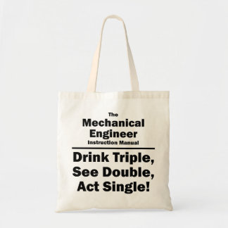 mechanical engineer canvas bags