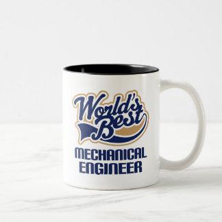 Mechanical Engineer Gift Two-Tone Coffee Mug