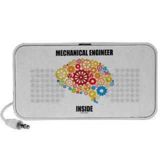 Mechanical Engineer Inside Gears Brain Mini Speaker