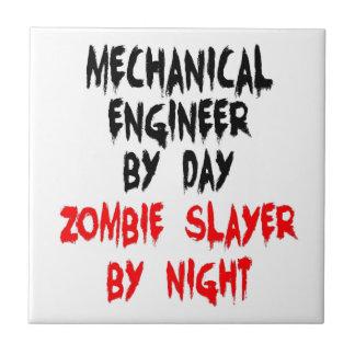 Mechanical Engineer Zombie Slayer Tile