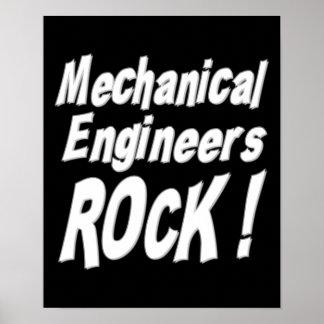 Mechanical Engineers Rock! Poster Print