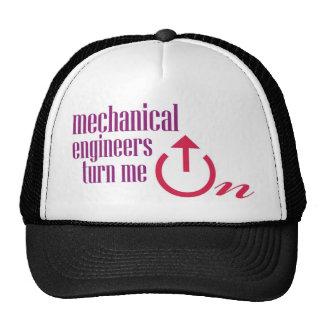 Mechanical engineers turn me on cap