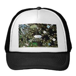 Mechanical Flex Abstraction Trucker Hat