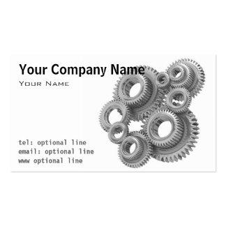 Mechanical Gears Business Card
