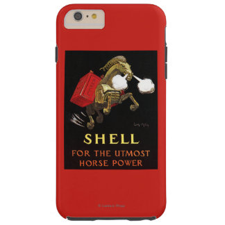 Mechanical Horse with Shell Oil Tough iPhone 6 Plus Case