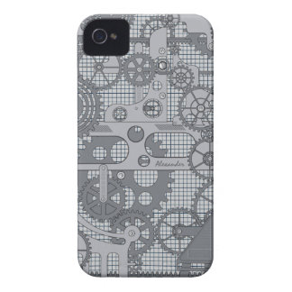 Mechanical Steam Punk Gears iPhone 4 Case . Case-Mate iPhone 4 Cases