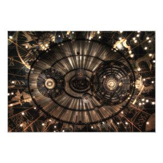 Mechanical Steampunk Zodiac Constellations Photo
