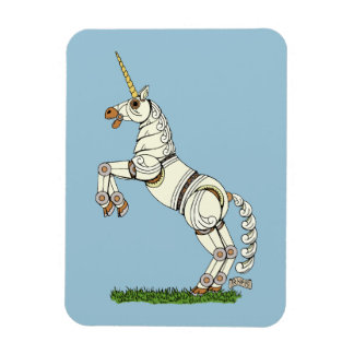 Mechanical Unicorn Flexible Magnet