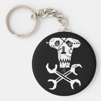 mechanical workshop logo key ring