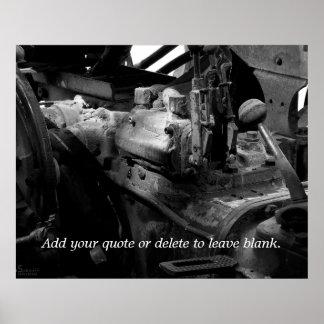 Mechanics Customizable Print