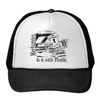 Mechanics do it with Fluids Hats